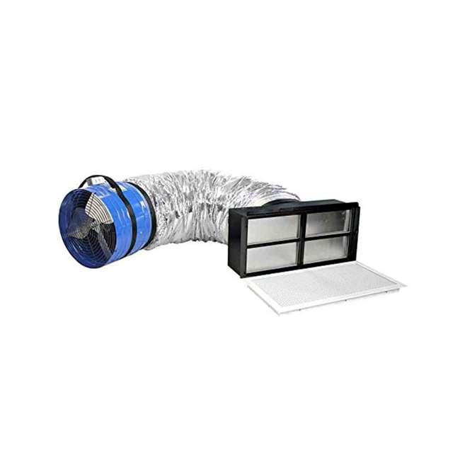 QC-CL-4700-OB QuietCool CL 4700 Original Classic Whole House Fan Cooling Ventilation(OPEN BOX) 1