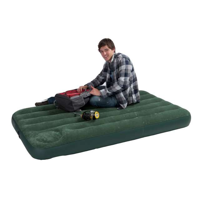 3 x 66927E-U-A INTEX Twin Air Bed Outdoor Downy Inflatable Mattress 66927E (Open Box) (3 Pack)