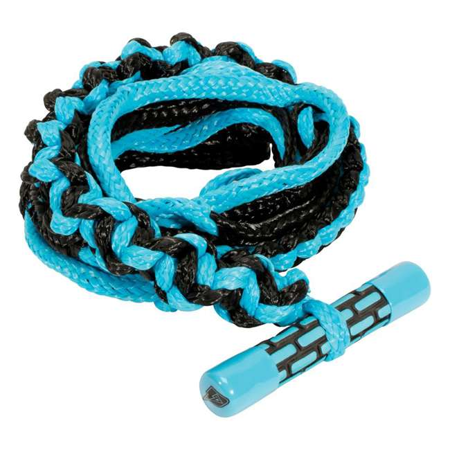 85170008-CON Connelly Adjustable 20 Foot Surf Ski Tow Rope with T Bar Grip Handle, Cyan
