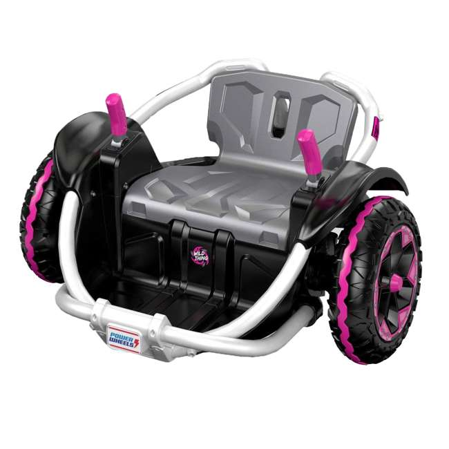 FNK90 Power Wheels Wild Thing 12V Kids Ride-On Vehicle, Pink