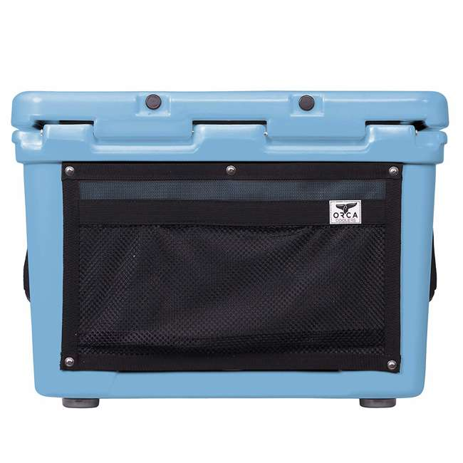 ORCLB058 Orca ORCLB058 58 Quart 72 Can Roto Molded Insulated Ice Chest Cooler, Light Blue 5