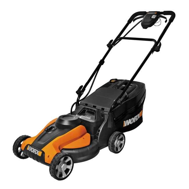 WG782 Worx WG782 24-Volt Electric Walk Behind Push Lawn Mower 1