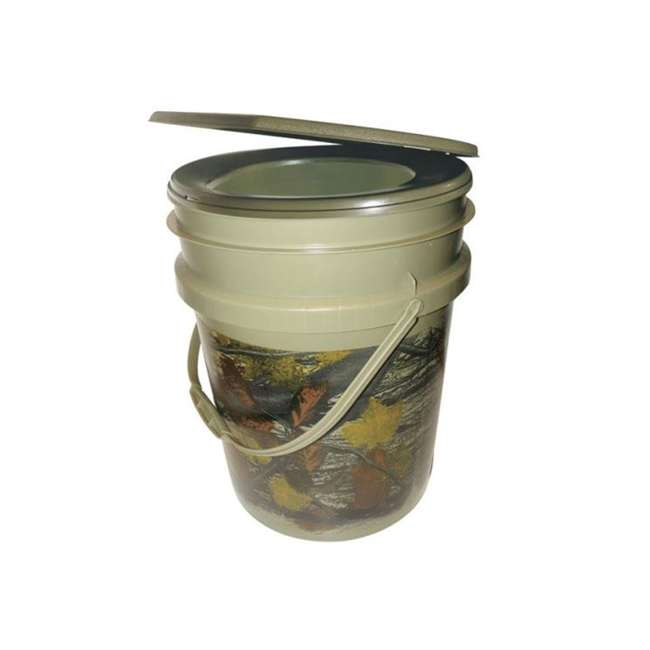 9863-03 Reliance Products Hunter's Loo Portable 5 Gallon Camouflage Toilet