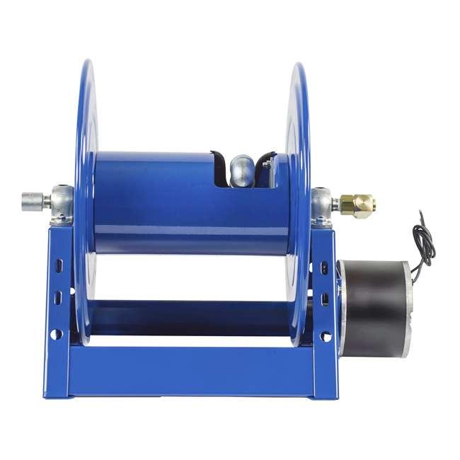 1125-4-200 Coxreels Steel Hand Crank Hose Reel 200 Foot Hose Capacity, Blue 1