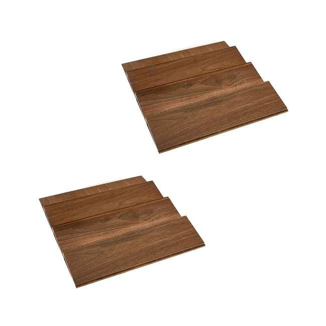 4SDI-18 Rev-A-Shelf 4SDI-18 18 Inch Wood Drawer Spice Organizer, Natural Maple (2 Pack)
