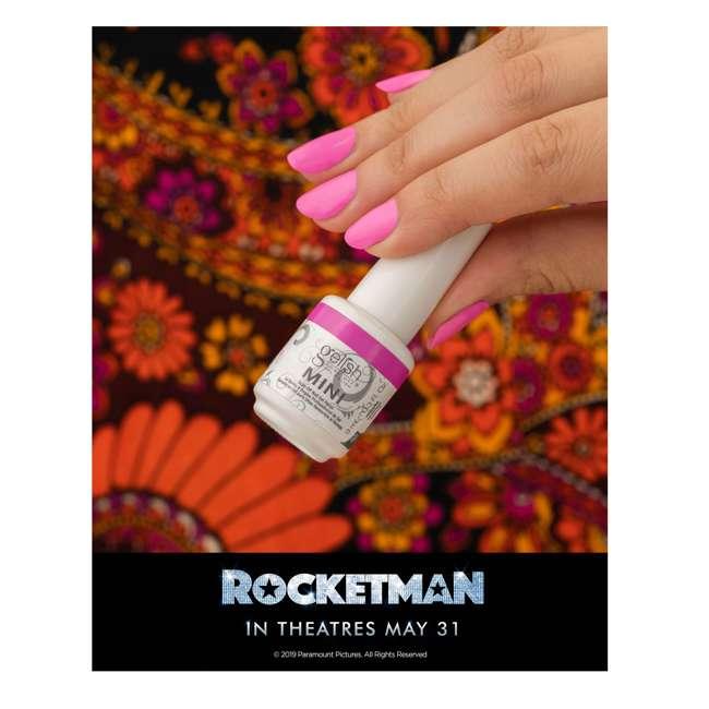 1900198-ROCKETMAN-4PK2 Gelish Mini Soak Off Gel Nail Polish Rocketman Glitter Collection 4 Pack, 9mL 7
