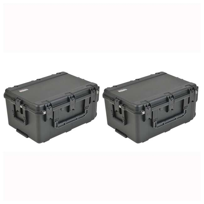 3i-2617-12BE SKB Cases Mil-Std Waterproof Utility Electronics Case (2 Pack)