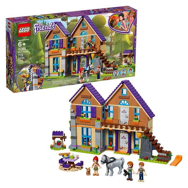6251511 LEGO Friends 41369 Mia's House 715 Piece Block Building Kit with 3 Minifigures 3