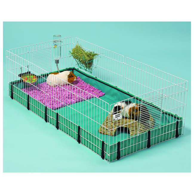 171GH MidWest Homes for Pets Compact Guinea Pig Habitat Cage w/ 8 Square Feet of Area 3