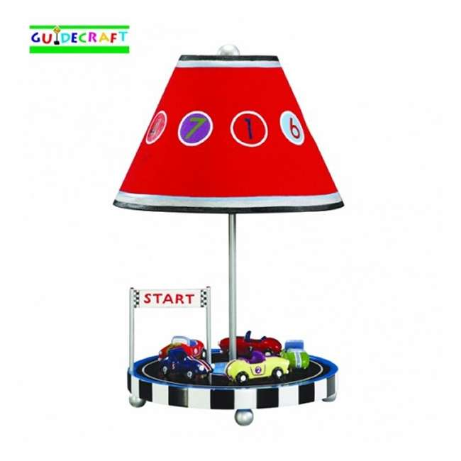 G85807 Guidecraft Retro Racers Table Lamp