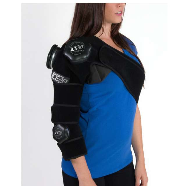 ICE-Combo Arm Bownet ICE20 Combo Ice Compression Wrap Ice-Combo Arm for Sports Arm Injuries 7