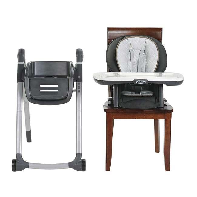 2079981 Graco 2079981 Table2Table Premier Fold 7 in 1 Adjustable Highchair, Tatum Gray 6