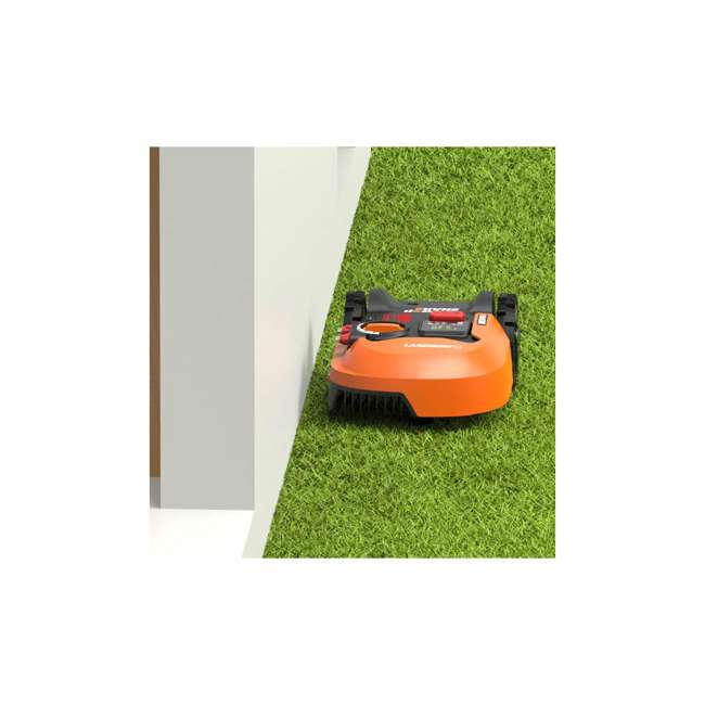 WR140 Worx WR140 Landroid M 20V 7 Inch Electric Cordless Robotic Lawn Mower, Orange 5