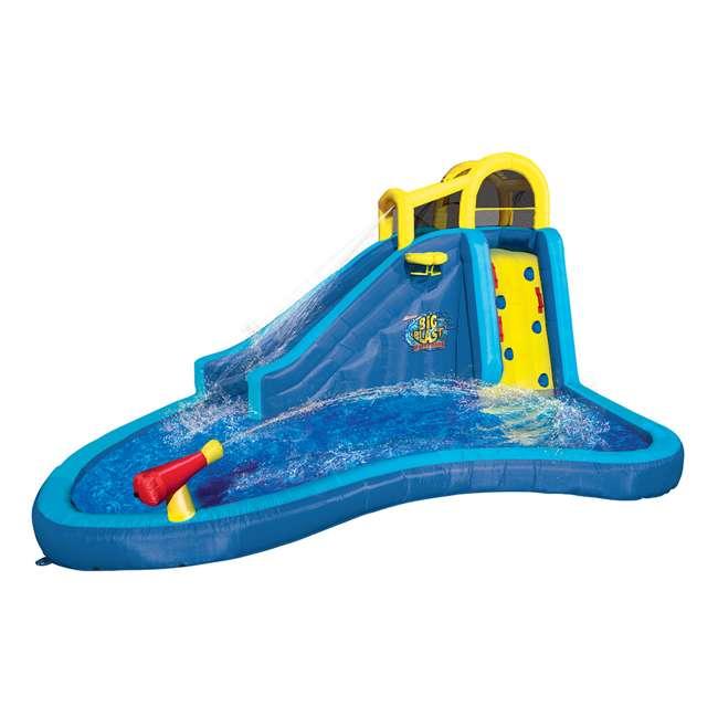 Inflatable Slide Pool Tesco: Banzai Inflatable Big Blast Splash Slide Lagoon Pool Water