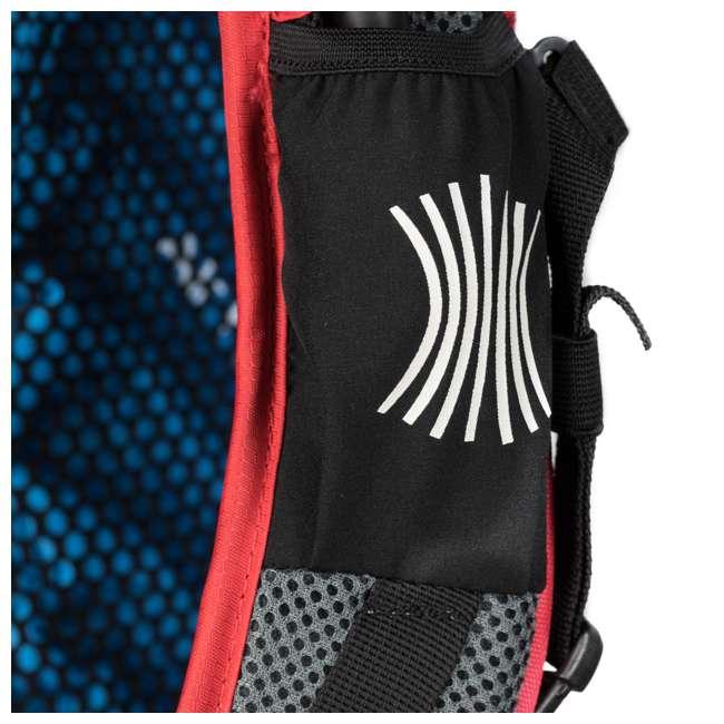 12STRD01C Klymit 20D Polyester Ultra-Lightweight Stash 18 Air Frame Day Backpack, Red 5