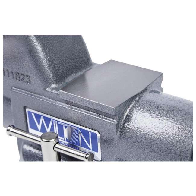 JPW-28807 Wilton Tradesman 6.5 In Jaw Width Steel Swivel Base Anvil Work Bench Vise (2) 3