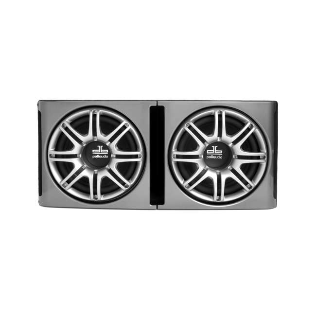 DB1222 Polk Audio DB1222 Dual 12-Inch Ported Subwoofers Enclosures Bass Pacakge Subs (Pair) 2