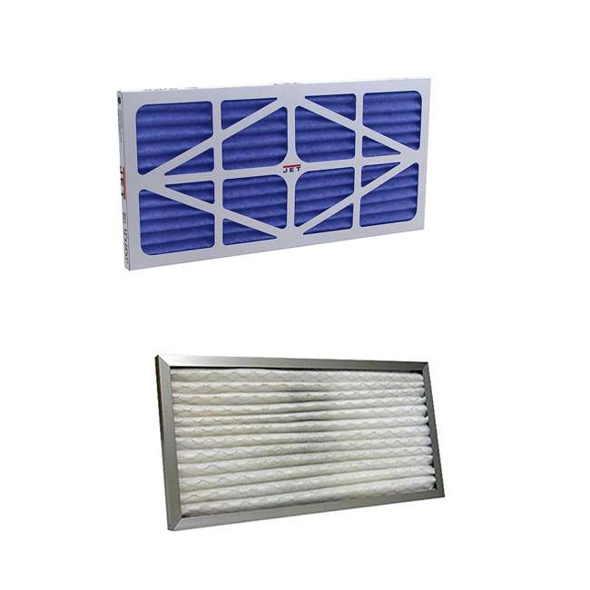 JET-708731 + JET-708732 Jet Pleated Electrostatic Filter and Washable Filter