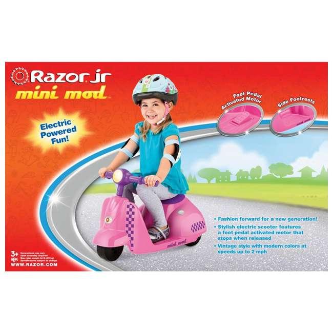 Razor Jr Mini Mod Electric Scooter Pink 20115261