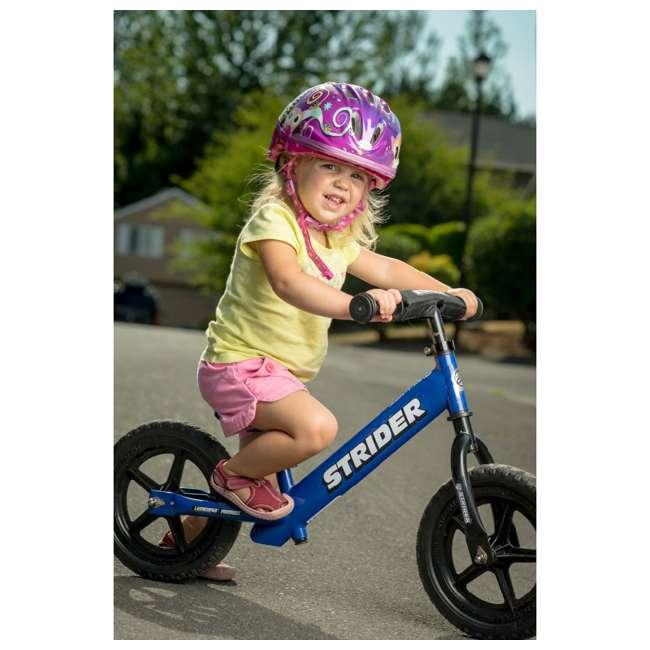 ST-S4BL Strider 12 Sport Balance Kids Learning Bike, Blue 4