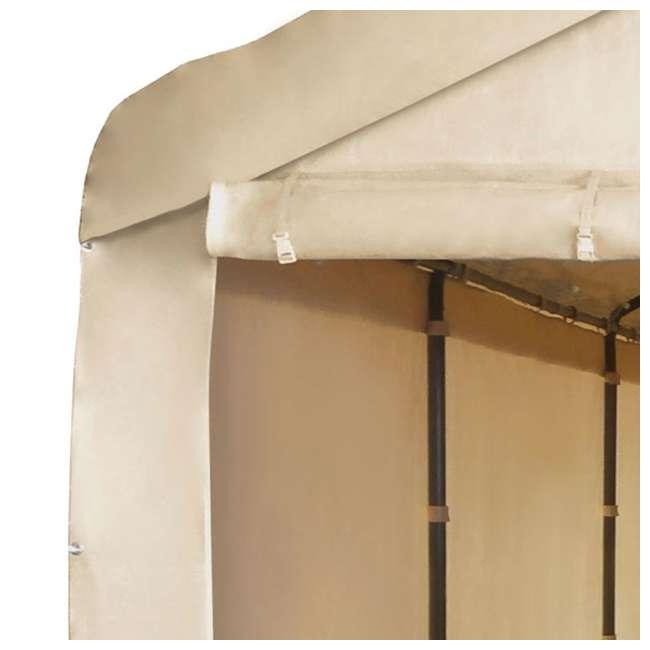 CVAN12002110160-U-A Caravan Mega Domain Car Port Sidewalls (Not Including Frame/Roof) 2