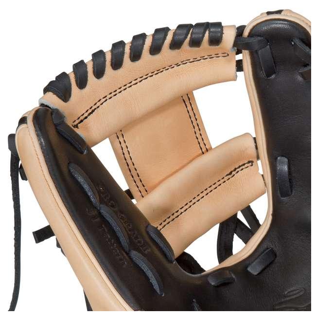 PRO314-2BC Rawlings Heart of the Hide 11.5-Inch Softball Baseball Mitt 3