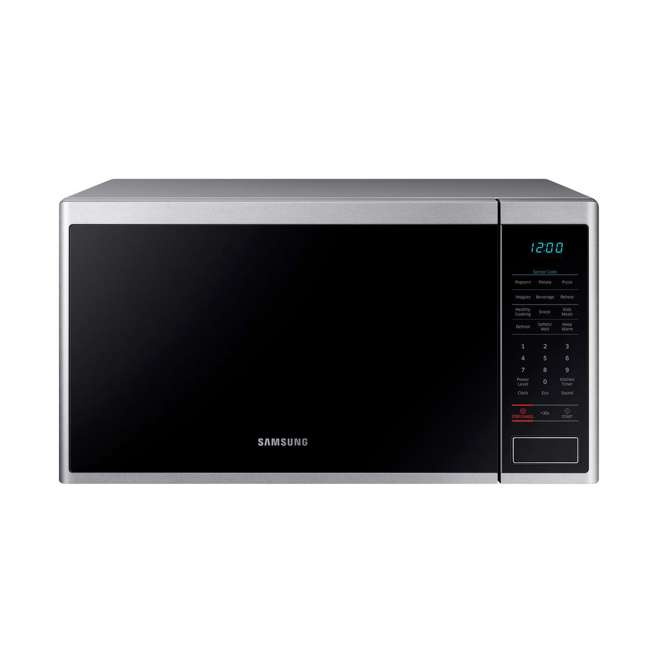 MS14K6000AS-RB Samsung 1.4 Cubic Foot Countertop Microwave Oven, Silver (Certified Refurbished)