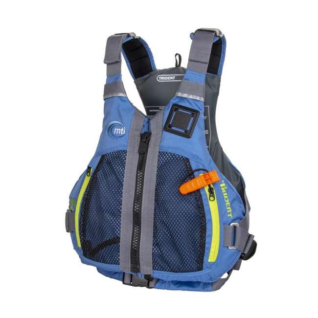 MTI-716D-0BB34 MTI Life Jackets Trident Adult L/XL Life Vest, Blue 1