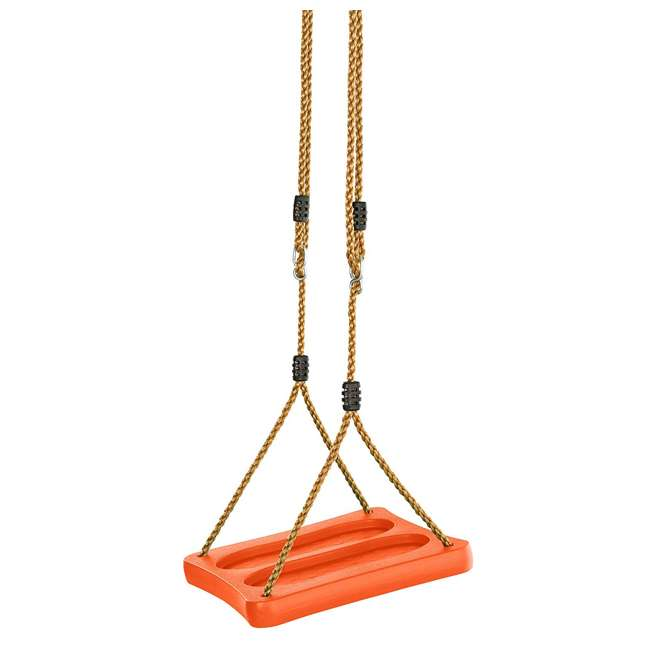 SWSSR-OR LNK1 - Swingan One Of A Kind Standing Swing With Adjustable Ropes, Orange 1