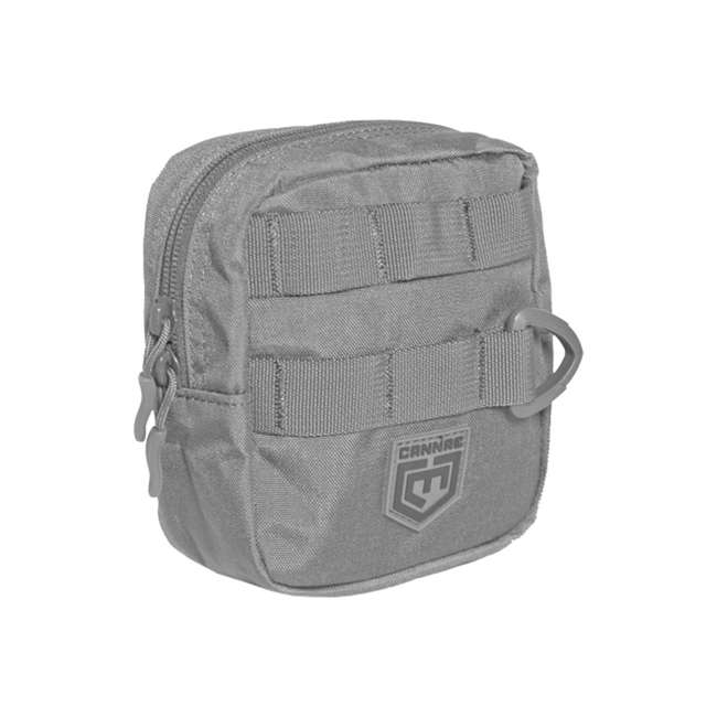 CPG-BP-PHAL-L-DG+CPGPCEDCPDG+CPGPCALMMDG+CPGPCTRI6 Cannae Pro Gear Phalanx Tactical Full Size Pack with Helmet Carry w/ Accessories 4