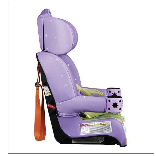 KE-3001TIA KidsEmbrace 2 in 1 Convertible Forward Facing Car Seat, Disney Princess Tiana 2