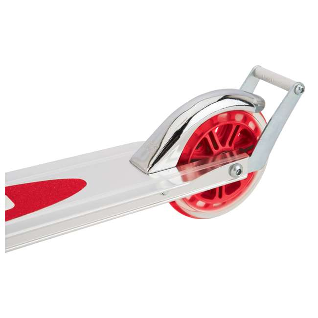 13014360 + 97778 + 96771 Razor A3 Folding Kick Scooter (Red) with Helmet, Elbow & Knee Pads 7