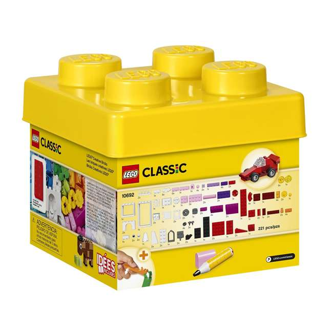 3 x 6101959 LEGO Classic Small Creative Set (3 Pack) 1