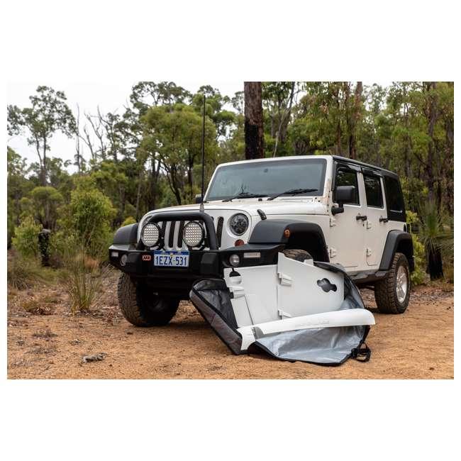 JPJKU4D-DIGI Rhinohide Jeep Wrangler JK 4x4 4-Door Magnetic Body Armor Panels, Digi Camo 1