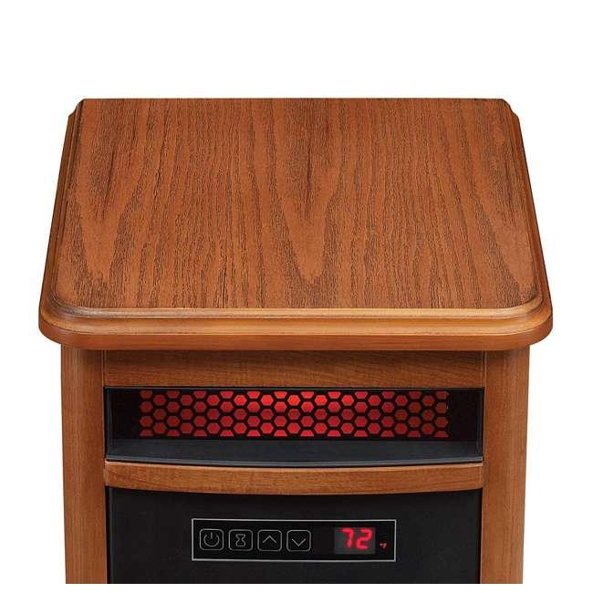 9HM9126-O142 Duraflame 1500 Watt 5200 BTU Portable Electric Infrared Quartz Room Space Heater 2