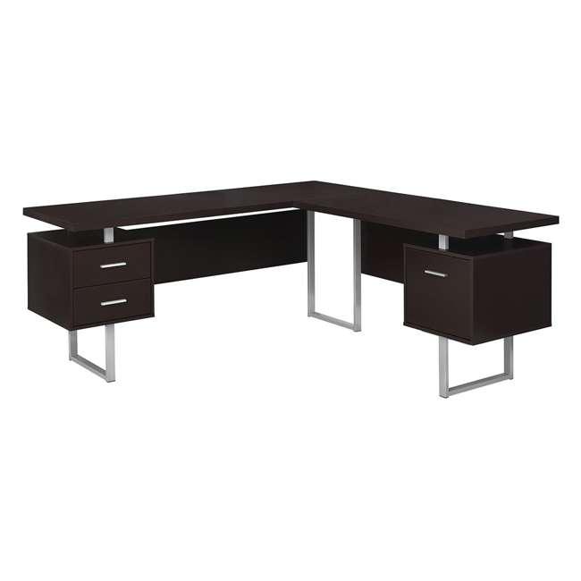 VM-7305-U-B Monarch Specialties 70 Inch Furniture Computer Desk, Cappuccino (Used)
