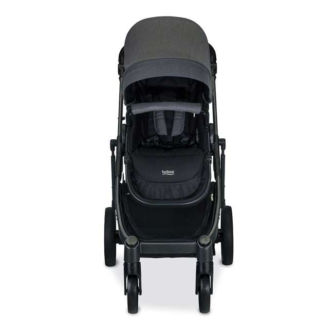 U911928 + S03634300 + S934000 Britax B Ready G3 Folding Baby Stroller, Snack Tray, and Second Seat Conversion 2