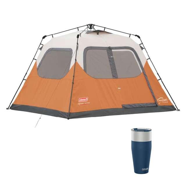 2000017933 + CAMEL-1304401085 Coleman Outdoor 6-Person Camping Tent & CamelBak 30 Oz Tumbler