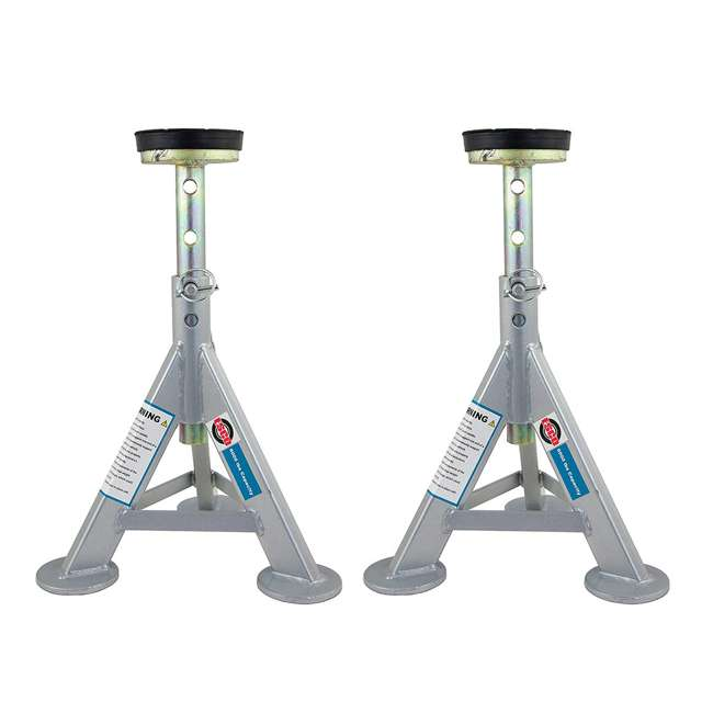 10499 Esco 10499 3 Ton Adjustable Shorty Style Low Profile Car Jack Stand (2 Pack)