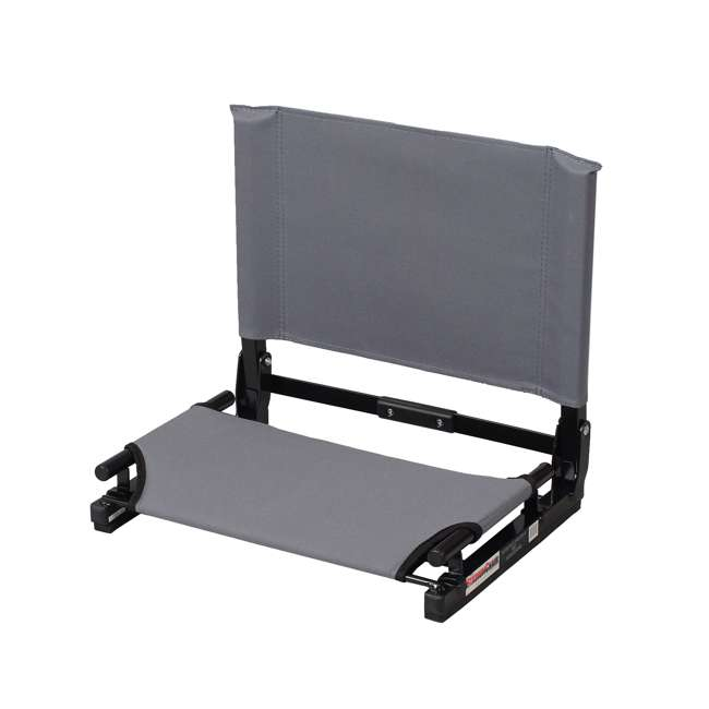 SC2-GRAY Stadium Chair Game Changer Bleacher Seat, Gray (2 Pack) 1
