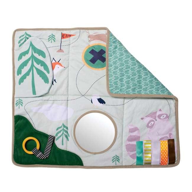 215530 Manhattan Toy Company Camp Acorn Sensory Baby Toy Activity Play Mat w/ Mirror 2