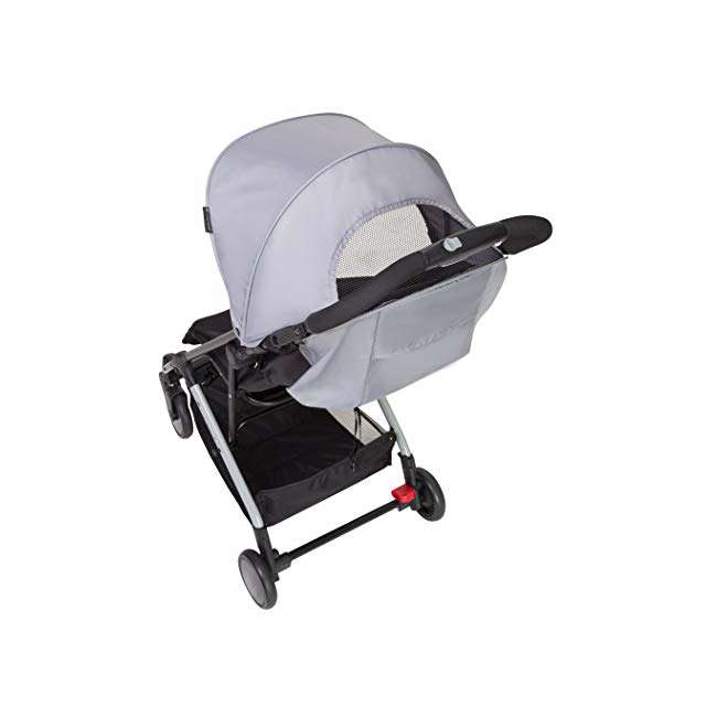 ST49A67A Baby Trend Tri Fold Lightweight Compact Mini Stroller with Carry Strap, Pebble 1