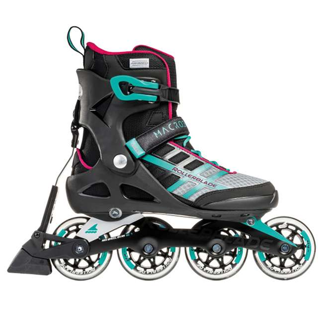 07734500986-6 Rollerblade Macroblade 84 ABT Womens Performance Inline Skates, Emerald Green 4