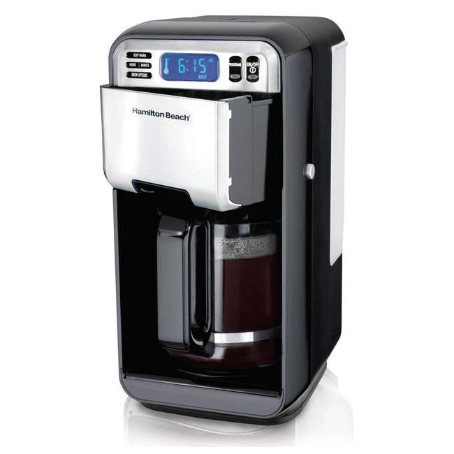 46205  Hamilton Beach 12 Cup Digital Automatic LCD Programmable Coffee Maker (2 Pack) 1
