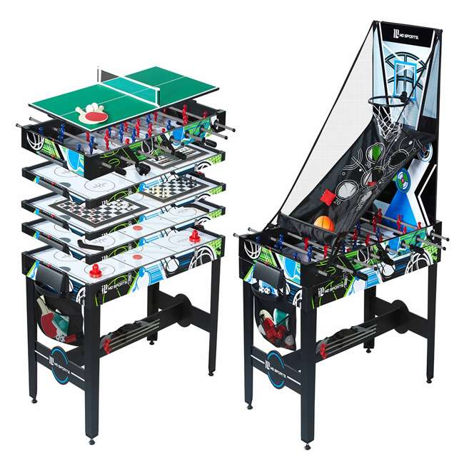 CBF048_048M MD Sports 48-Inch 12-in-1 Combo Game Table