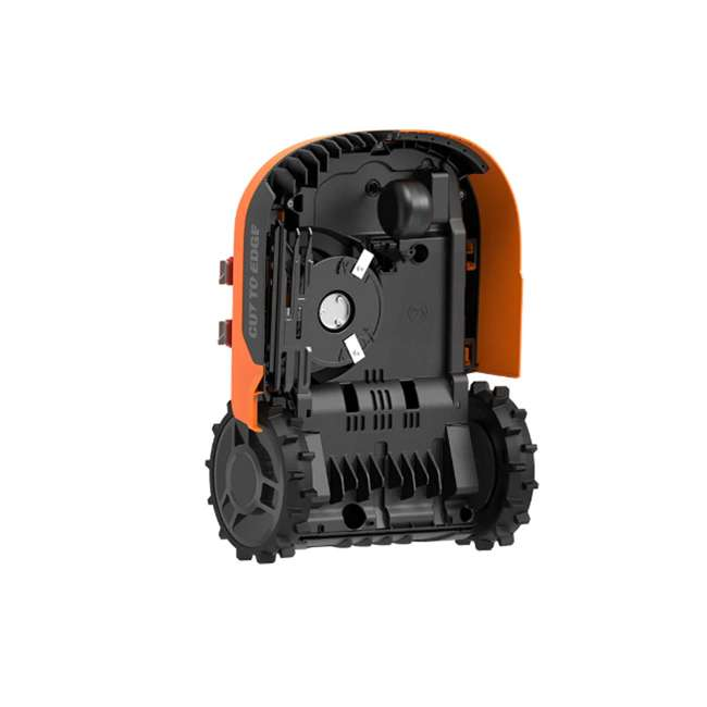 WR140 Worx WR140 Landroid M 20V 7 Inch Electric Cordless Robotic Lawn Mower, Orange 2