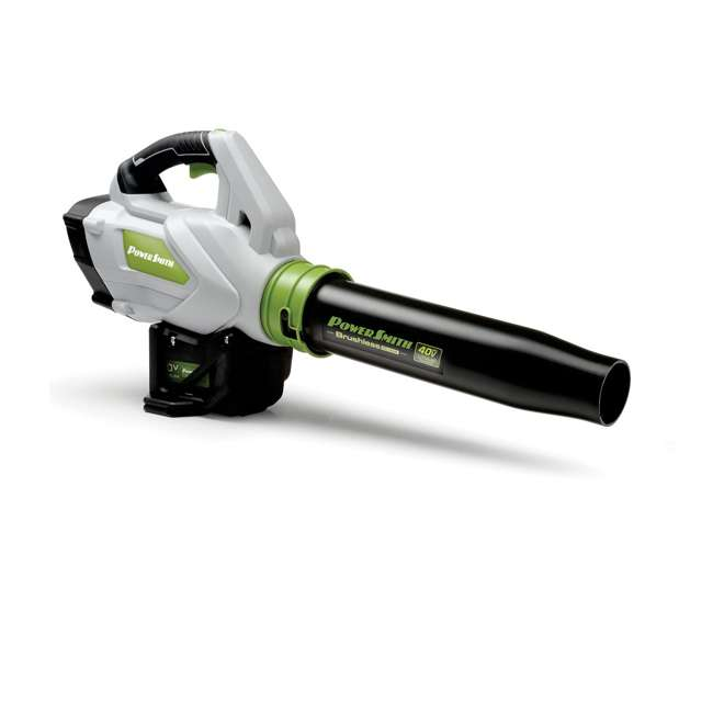 PBL140JH + PGT140 PowerSmith 120 MPH Leaf Blower + String Trimmer and Edger 1