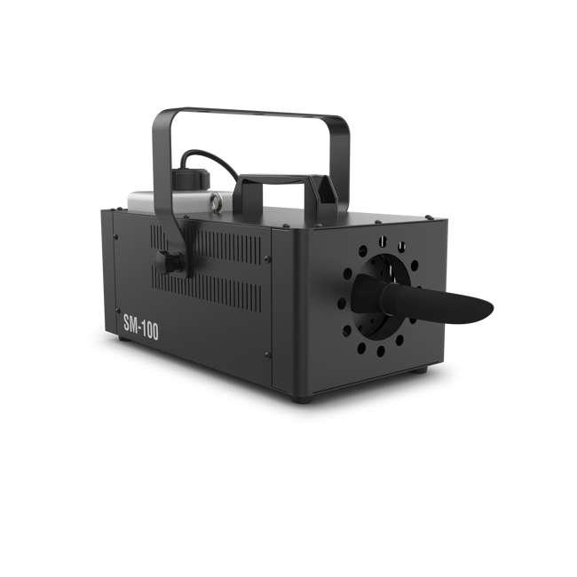 SM-100 + SNOW-GAL Chauvet DJ Snow Machine (2 Pack) & 1 Gallon Snow Juice  1