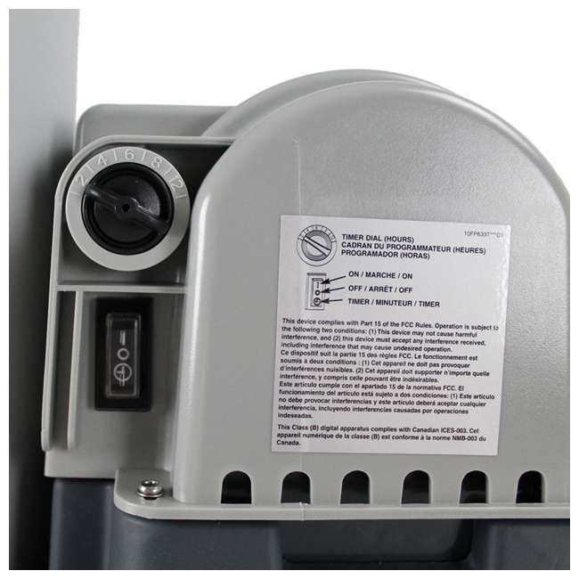 "26175EH + 28633EG Intex 18' x 48"" Above Ground Swimming Pool and 2500 GPH Cartridge Filter Pump 10"
