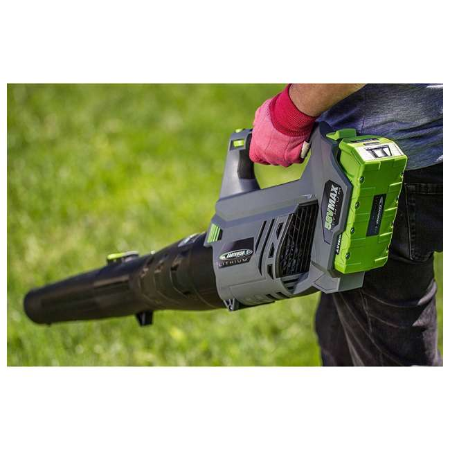 LB20058 Earthwise 58-Volt Lithium-Ion Cordless Electric Leaf Blower 2